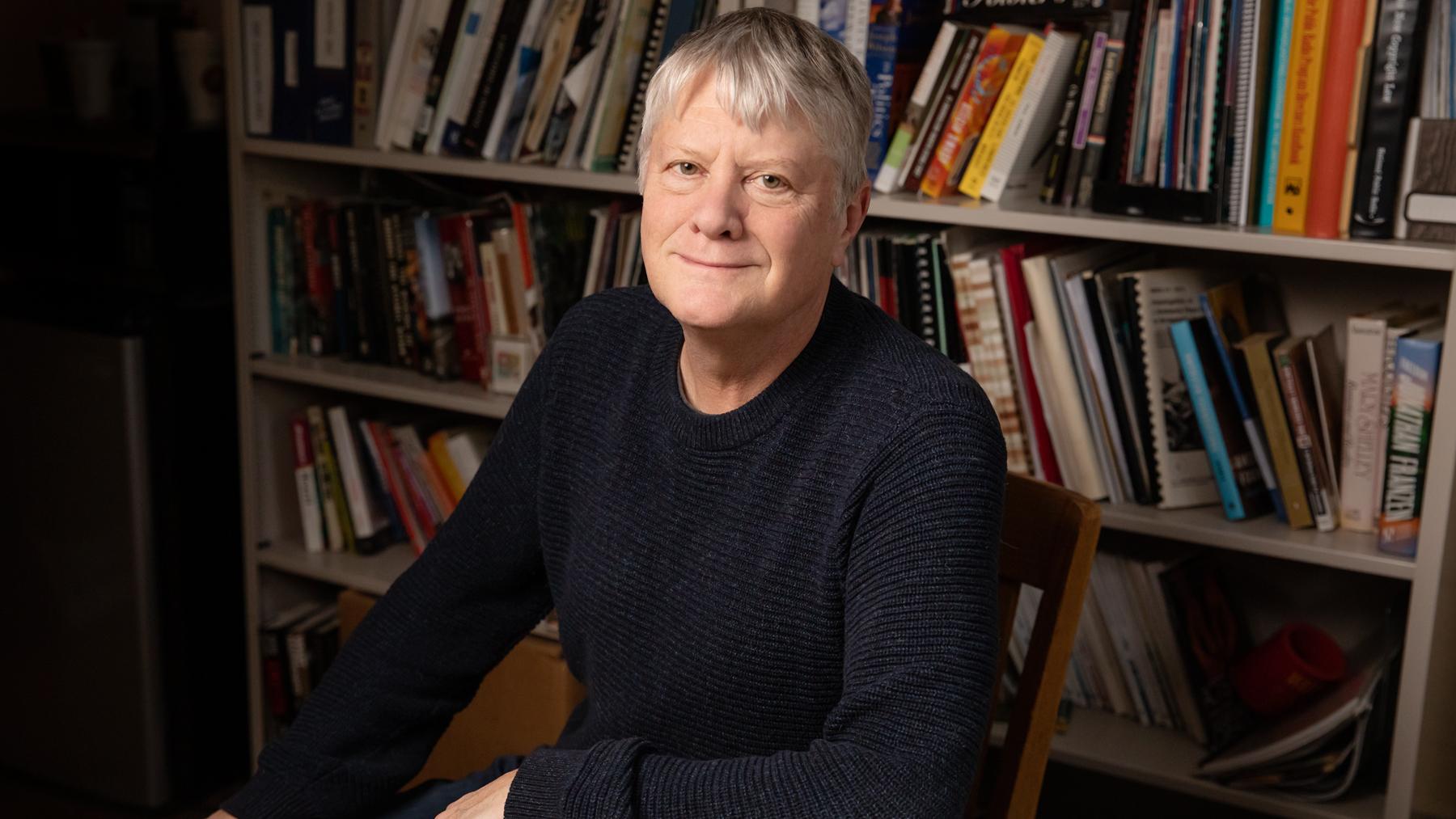 journalism professor Brant Houston. Photo by L. Brian Stauffer