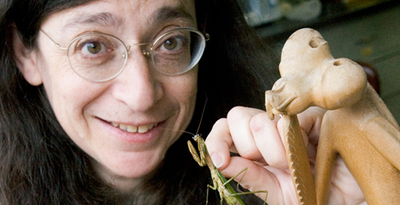 Professor May Berenbaum, a world-renowned entomologist