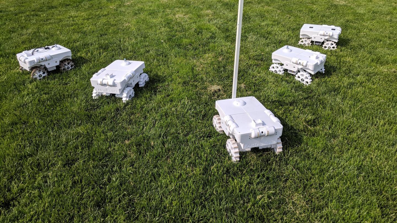 Terra Sentia crop-monitoring robots developed at Illinois