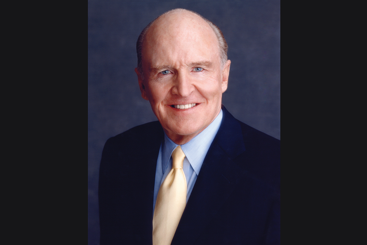 Jack Welch. Photo courtesy of Harper Business