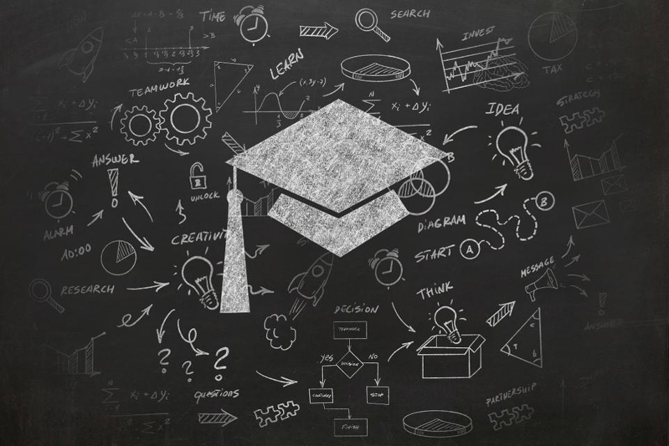 blackboard graphic. Getty Images