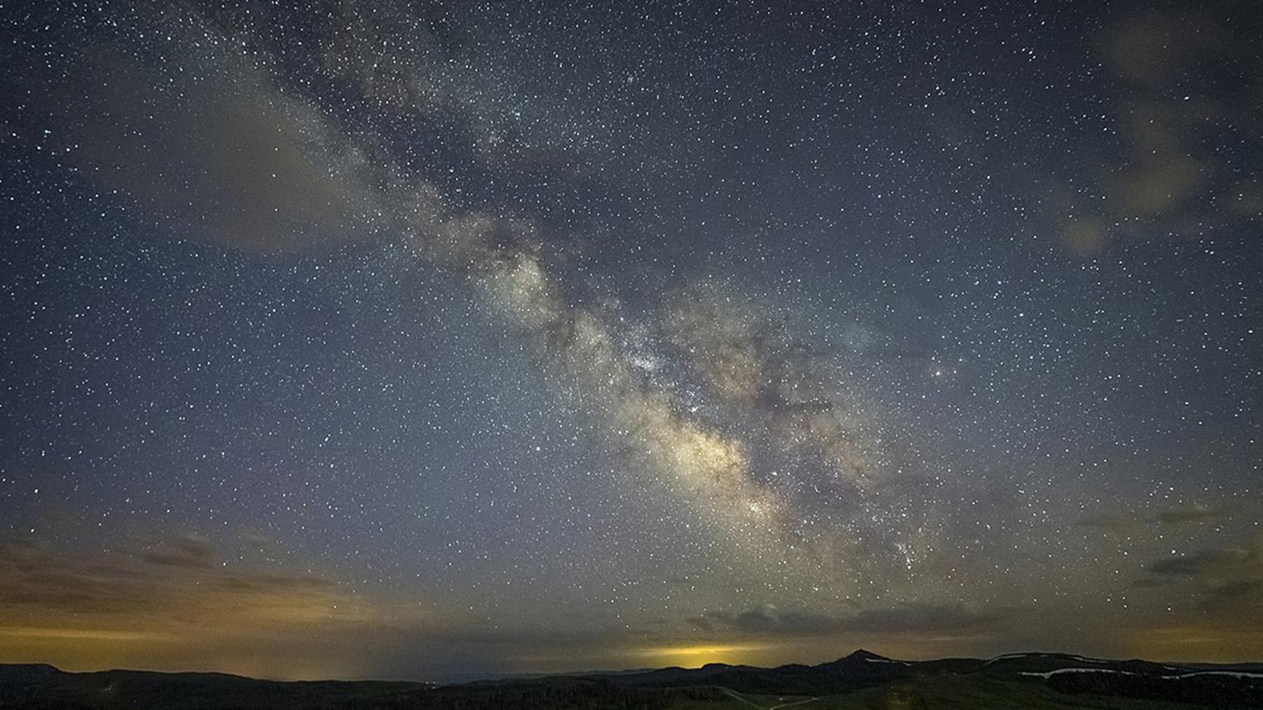 Milky Way. Photo by U.S. Forest Service