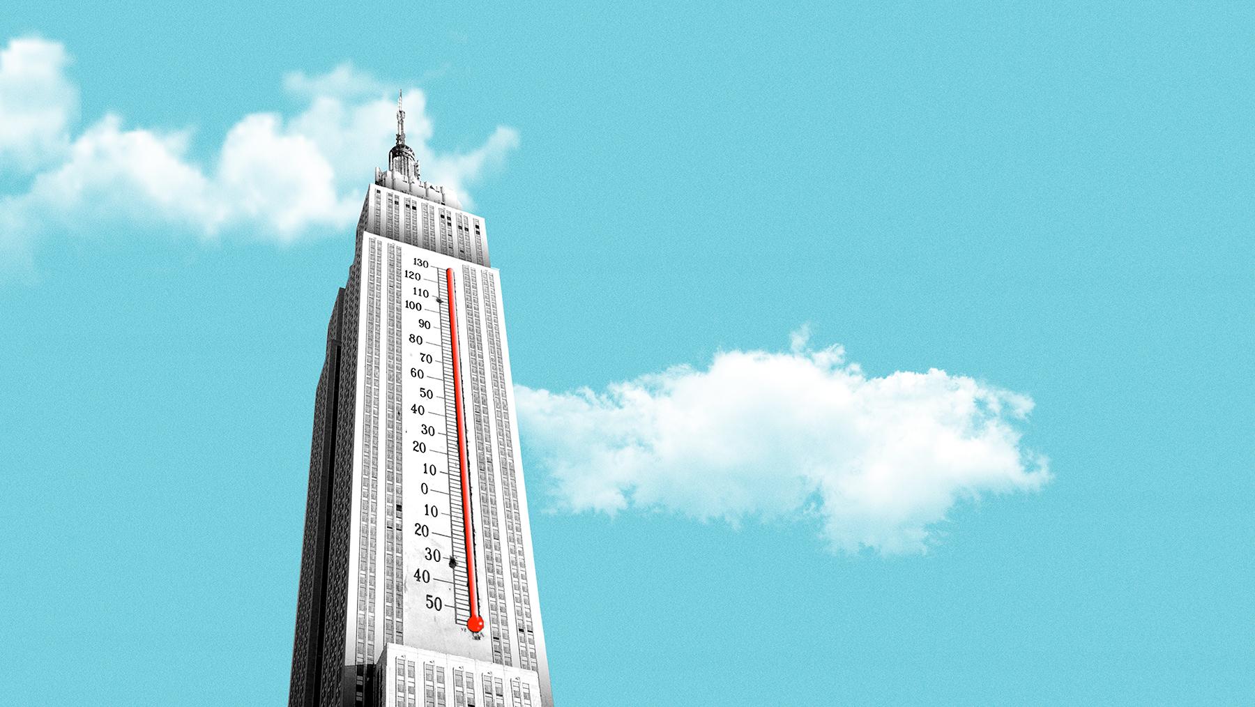 skyscraper graphic by Michael Vincent