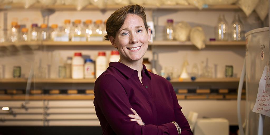 Anthropology professor Kathryn Clancy. Photo by Fred Zwicky