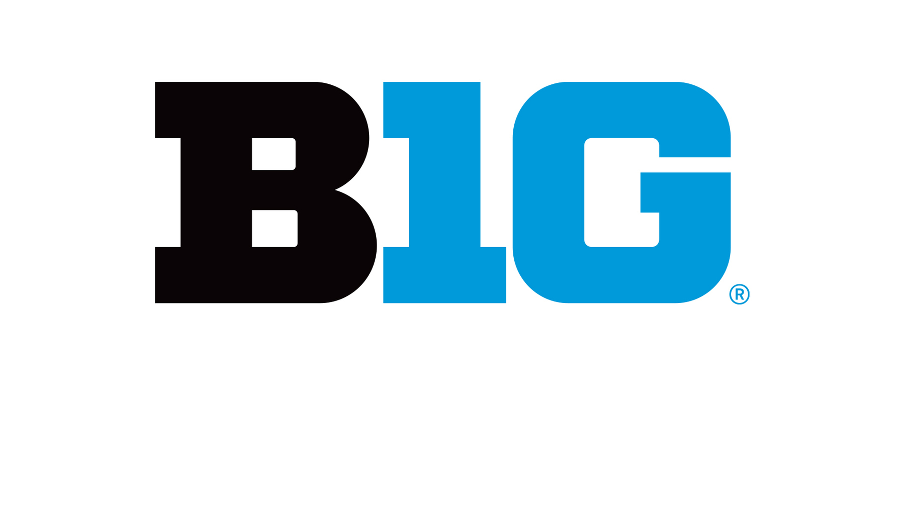 Big Ten's 'B1G' logo