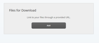 Add button under Files for Download
