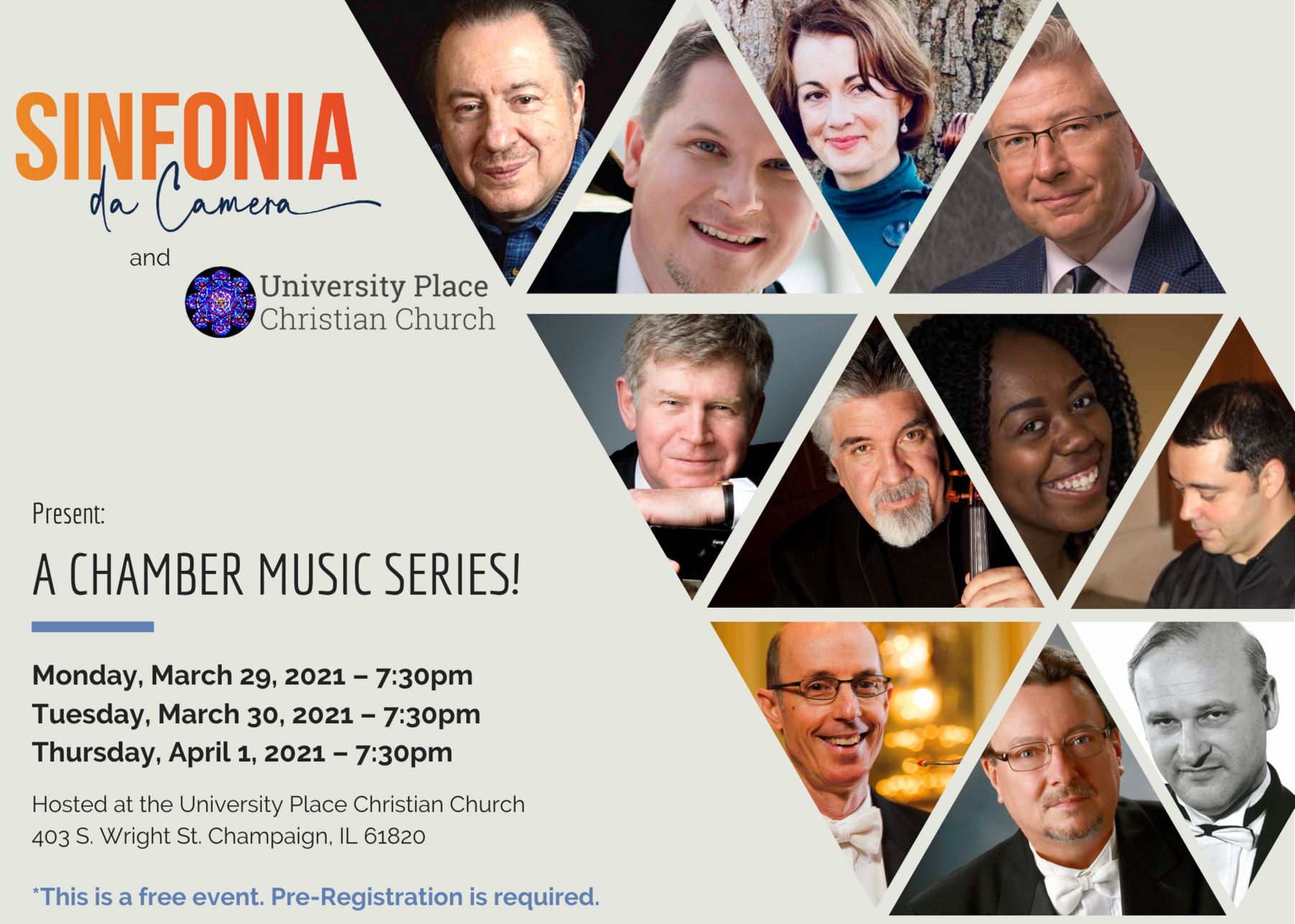 Sinfonia da Camera Presents: A Chamber Music Series!