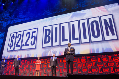 "The $2.25 billion philanthropic campaign ""With Illinois,"" the largest in the school's history, was launched in October 2017."