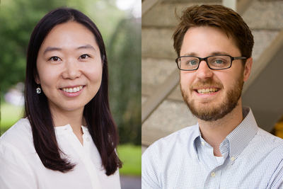 A new report from labor and employment relations professors Richard A. Benton, right, and Eunmi Mun shows women and nonwhite minorities remain largely underrepresented as corporate board members in the state of Illinois relative to the state's demographics and their respective industries, but also highlights several promising policies and practices that firms can adopt to help reduce the disparity.
