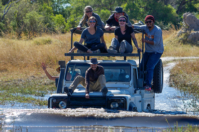 U. of I. animal sciences students spent nine weeks studying wildlife in Botswana's Okavango Delta and Chobe Enclave Region.
