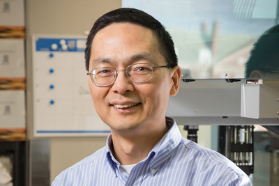 Professor Huimin Zhao led a team that achieved the highest reported efficiency of inserting genes into human cells with CRISPR-Cas9.