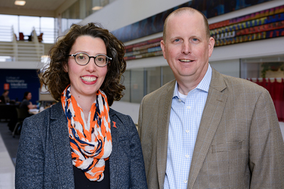 U. of I. veterinary clinical medicine professors Ashley Mitek and Jim Lowe discuss the traits of viruses that can be transmitted between animals and humans.