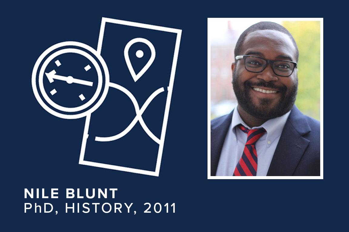 Nile Blunt, PhD, History, 2011