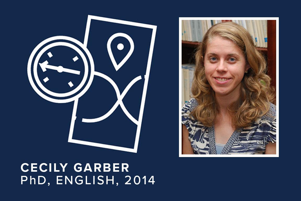 Cecily Garber, PhD, English, 2014