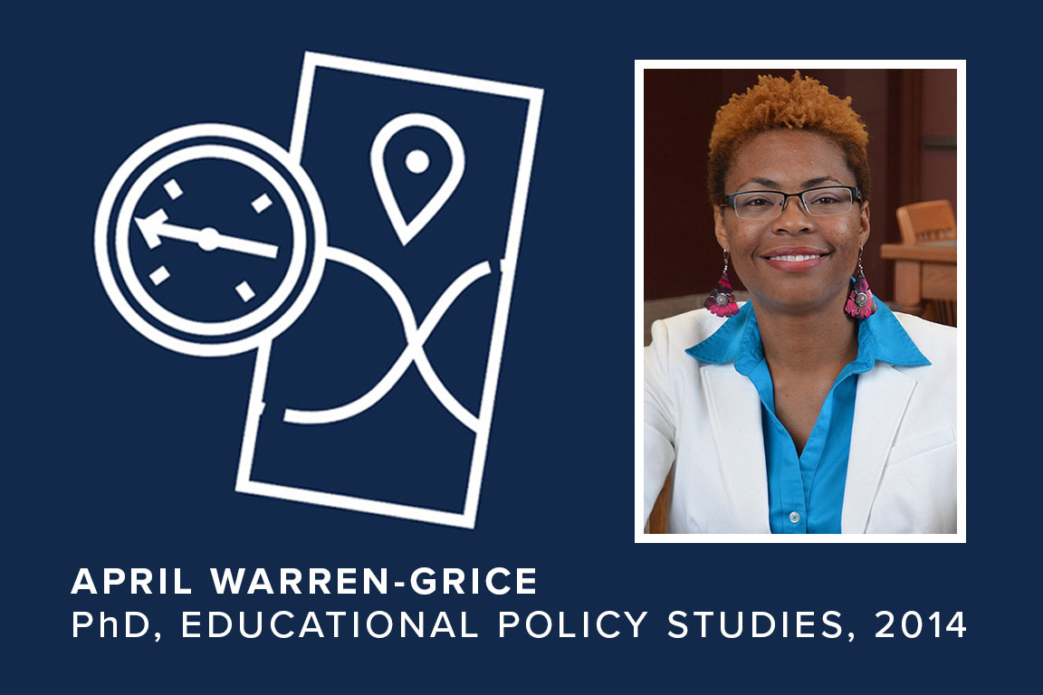 April Warren-Grice, PhD, Educational Policy Studies, 2014