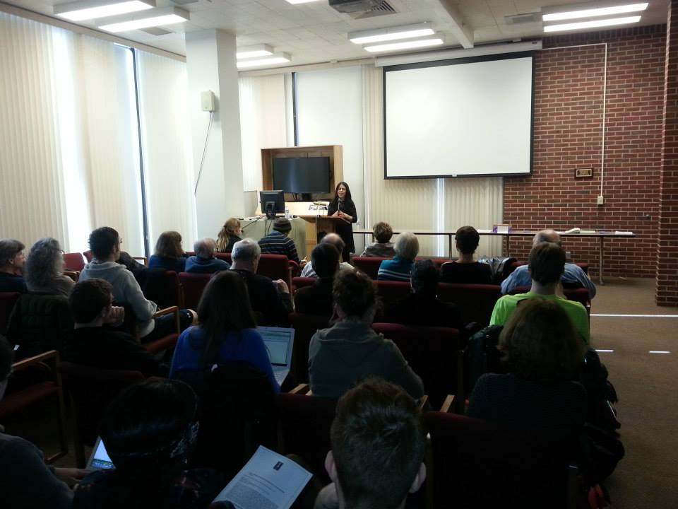 Greek-American Novelist Nathalie Bakopoulos, gives a lecture for MGS