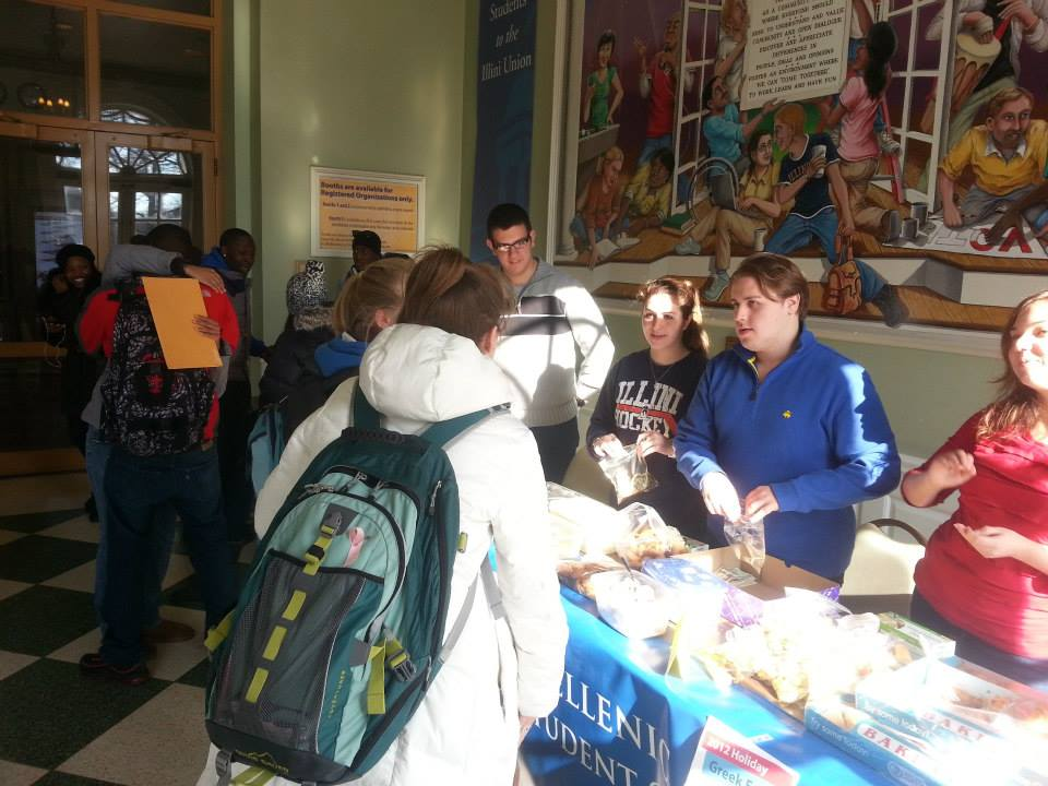 MGS holding a Christmas food festival at the Illini Union