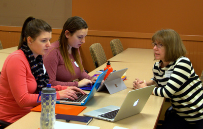 Undergraduates learn about writing grants