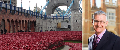 Poppies Tower and Michael Day Photo