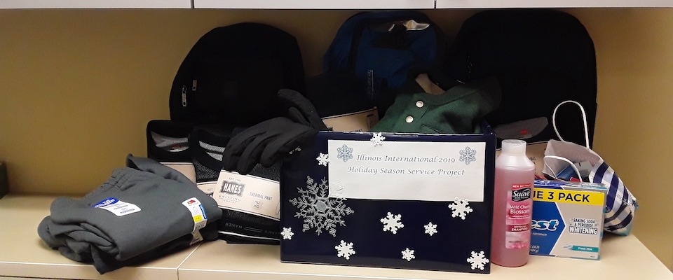 holiday service project box