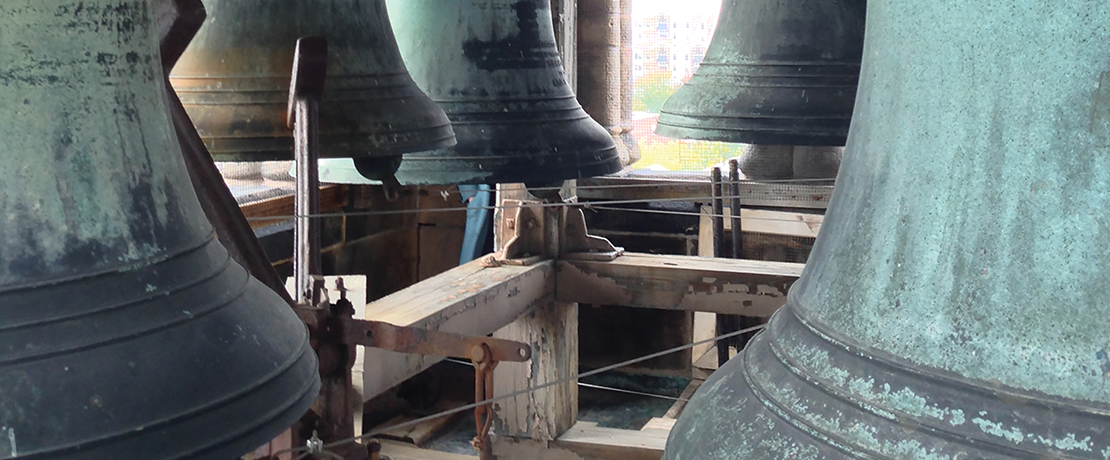 Restoration of the Altgeld Chimes moves forward