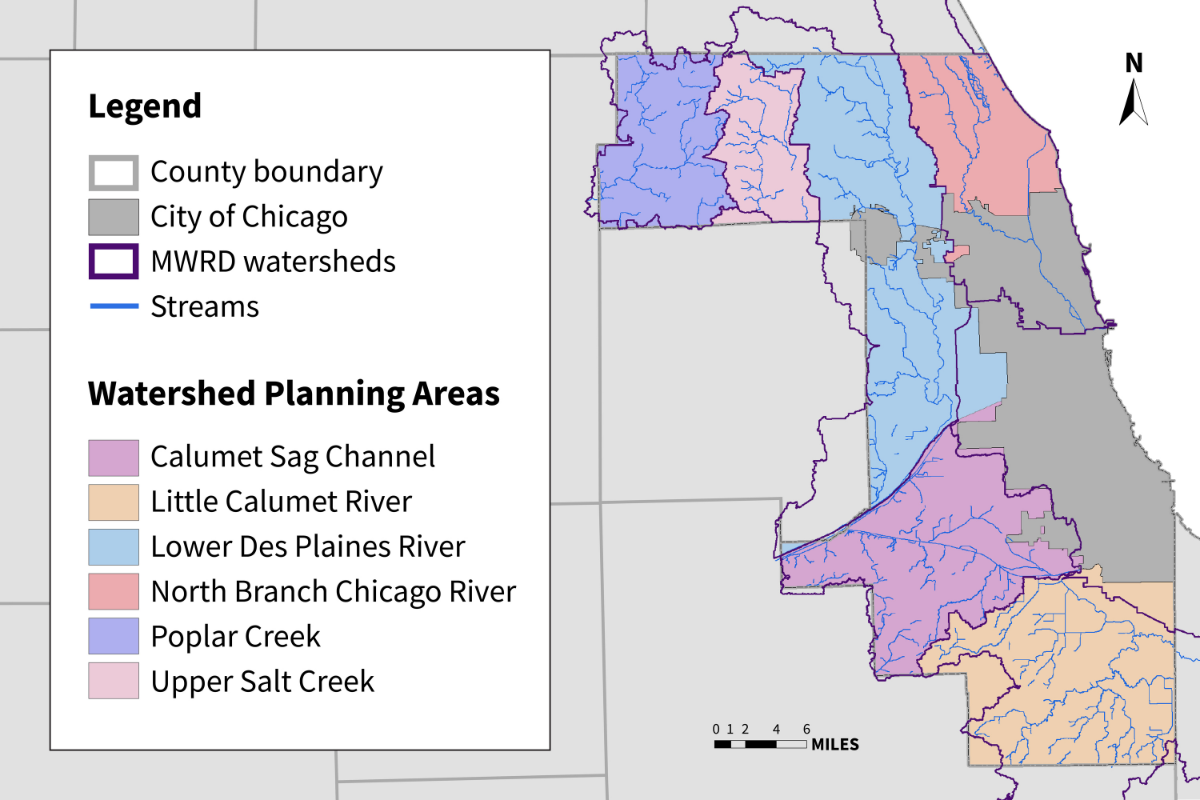 watershed management areas map