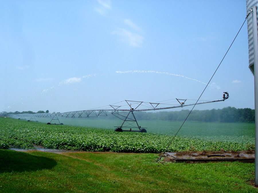 bean field irrigator