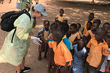 Students & faculty conduct public health research in Ghana