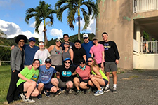 Alternative Spring Break students help out in Puerto Rico and Florida