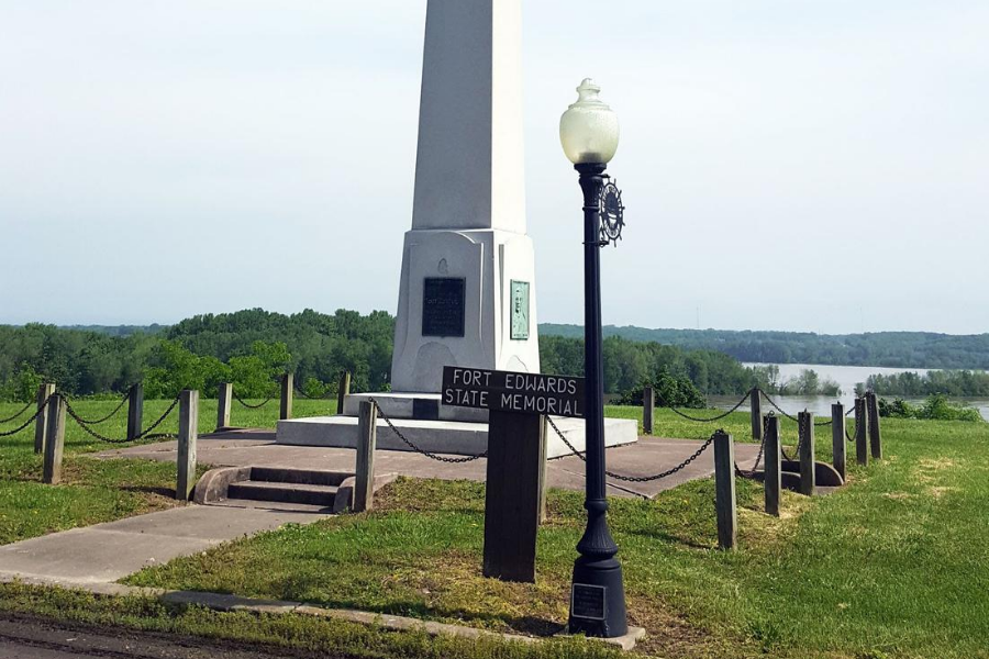 Fort Edwards State Memorial.
