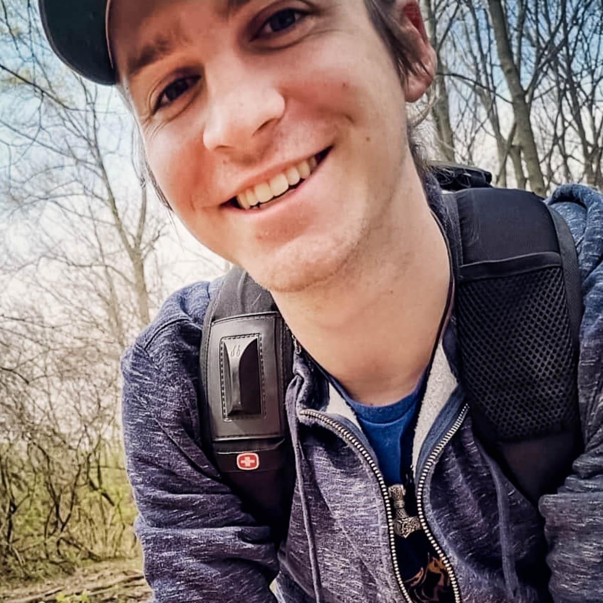 Christ Miller smiling