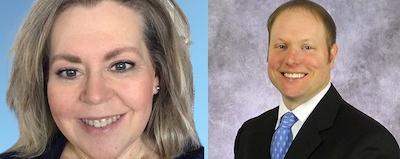 McFarlin, Shroyer named in NACUBO's Emerging Leader Program