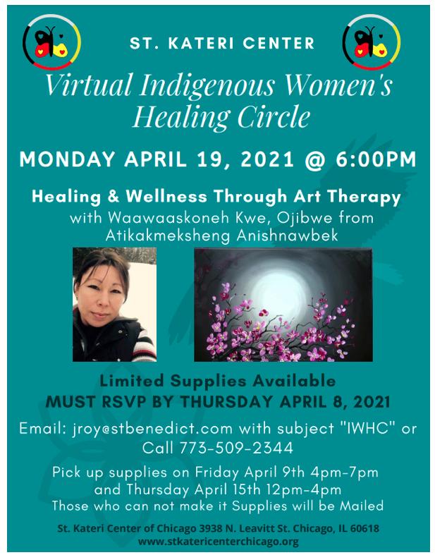 Virtual Indigenous Women's Healing Circle