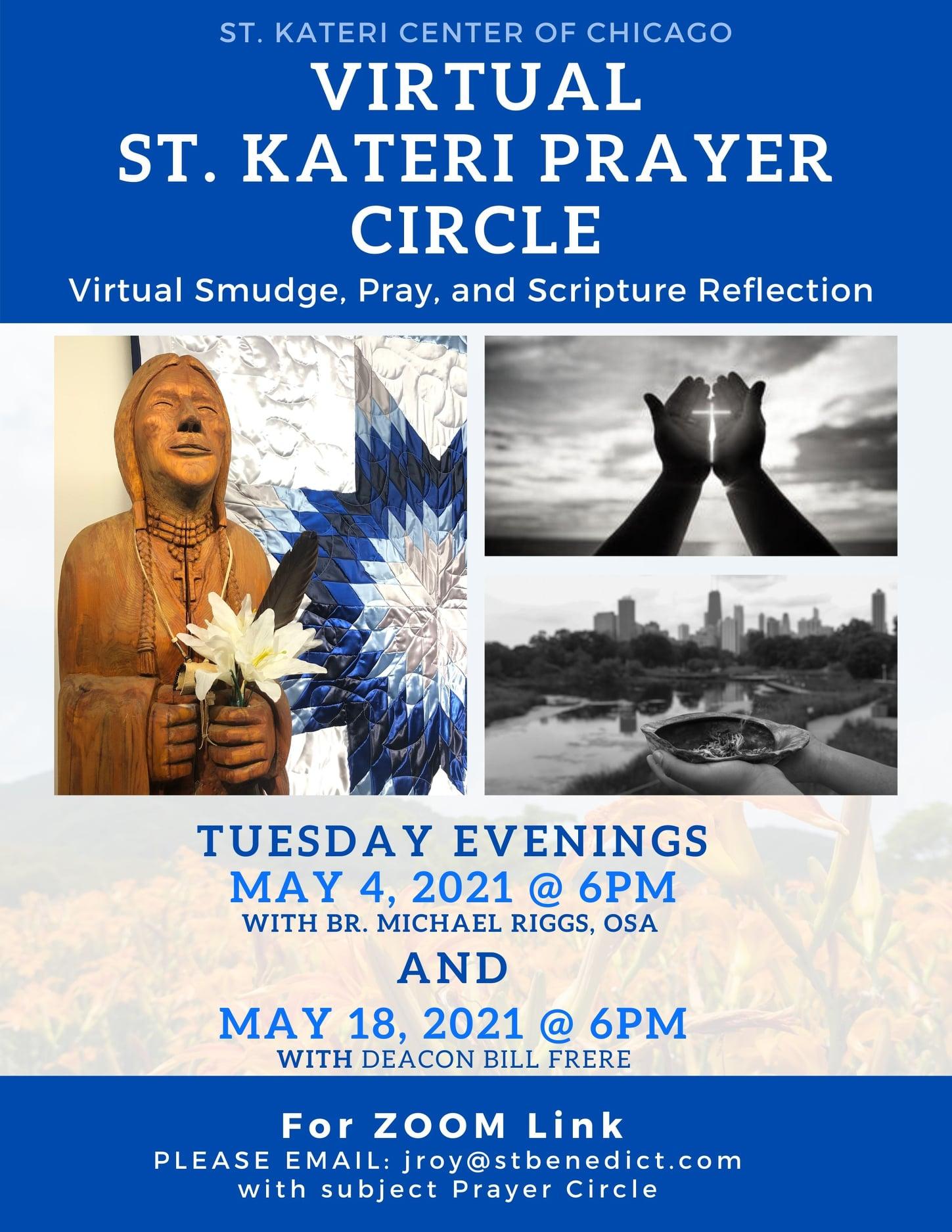 St. Kateri Prayer Circle Flyer