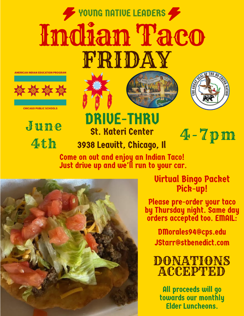 Indian Taco Friday Flyer