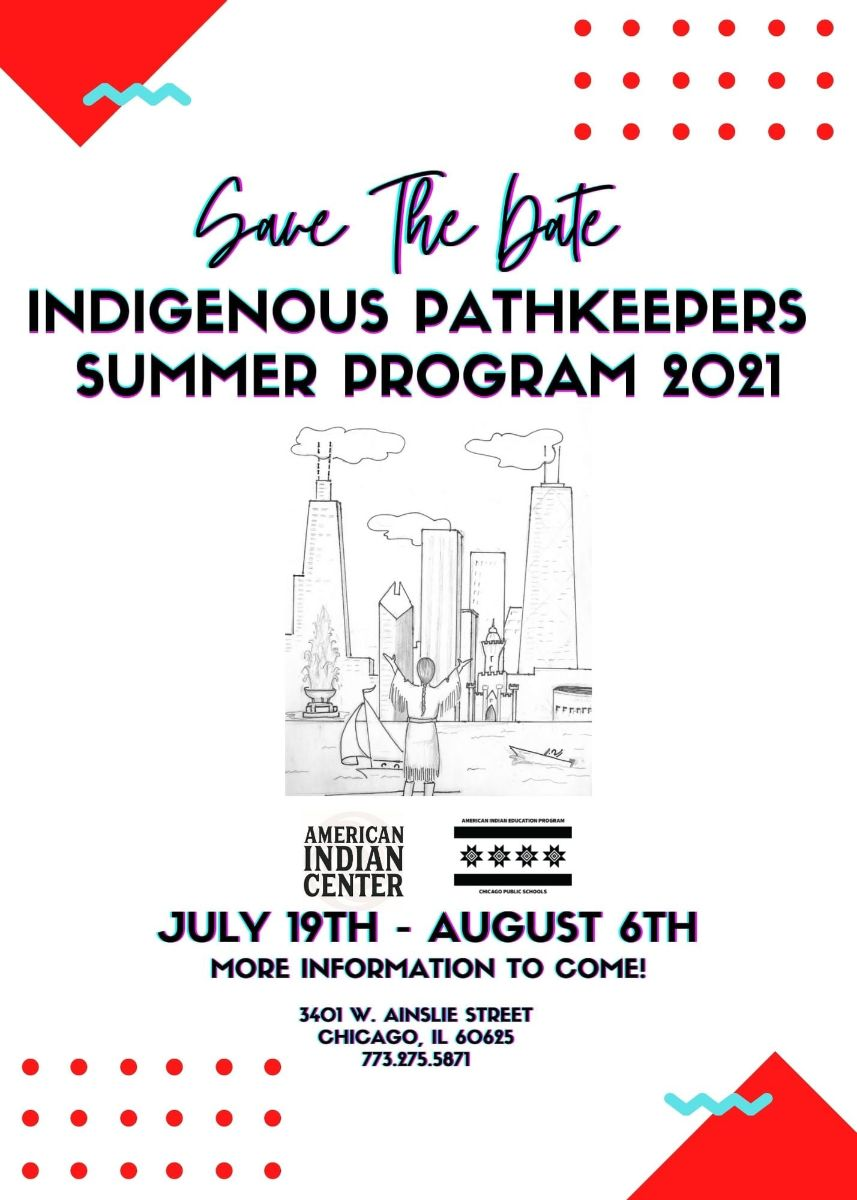 Indigenous Pathways Summer Program Flyer