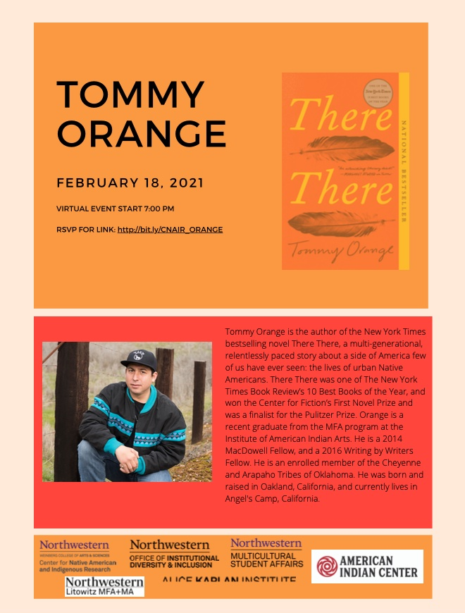 Conversation with Tommy Orange