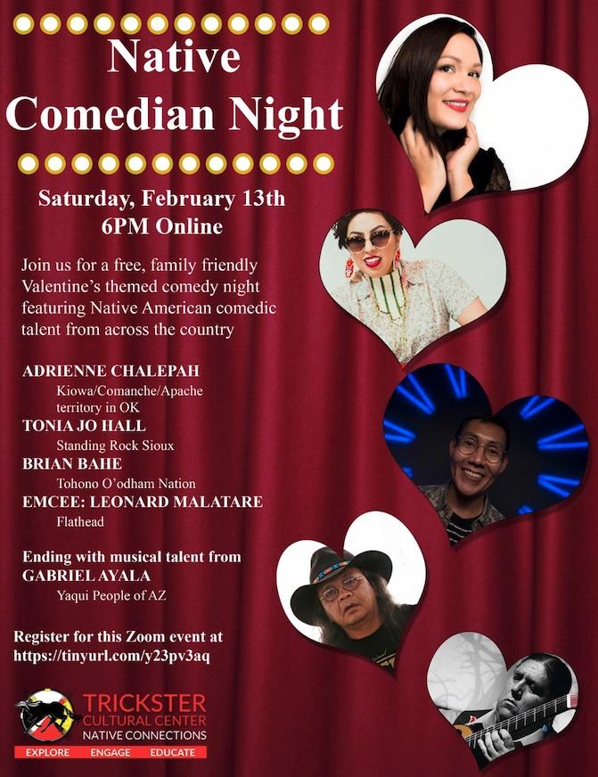 Native Comedian Night