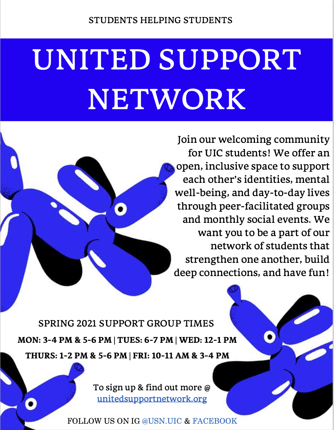USN Outreach Support