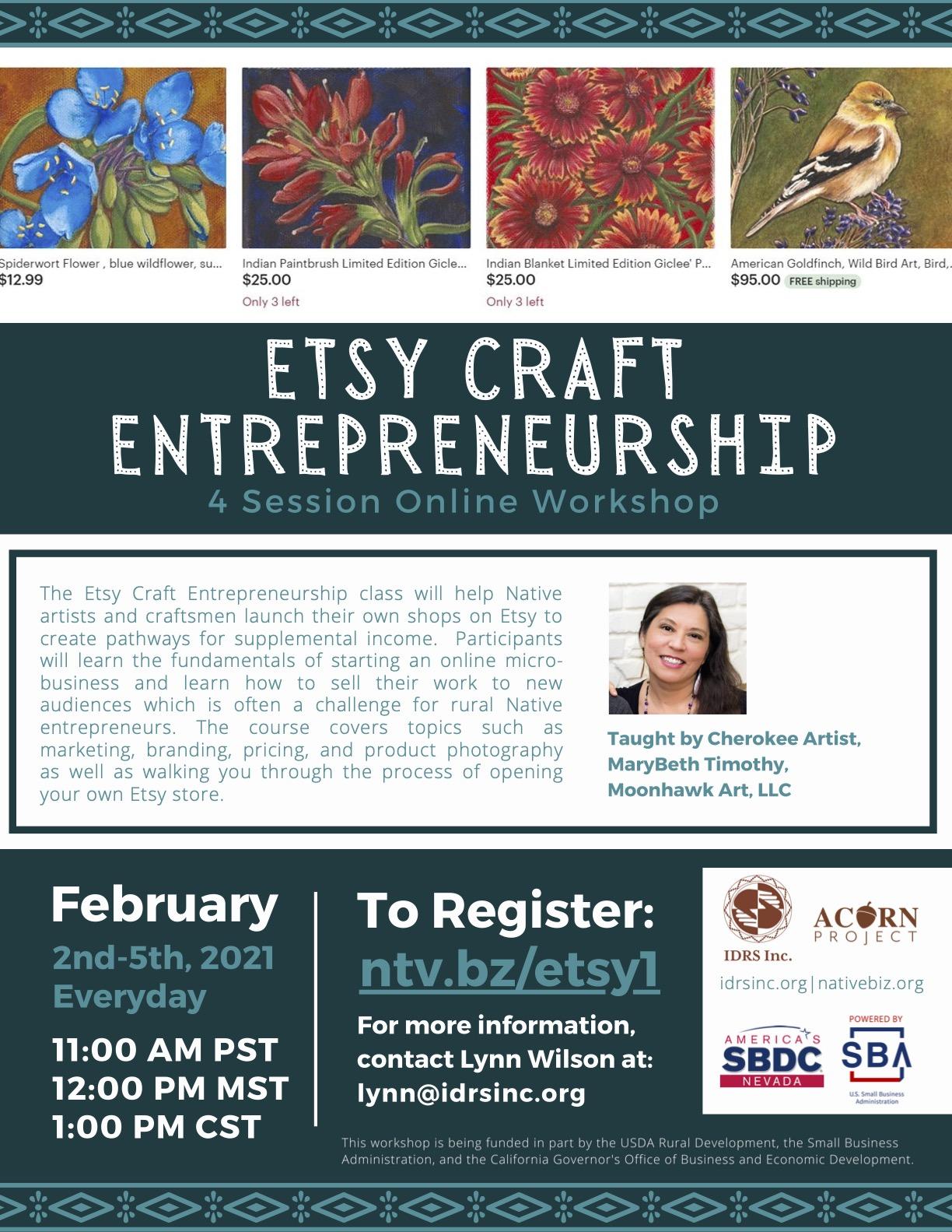 Etsy Craft Entre.
