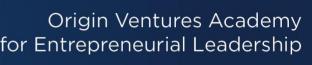 Origin Ventures Academy for Entrepreneurial Leadership