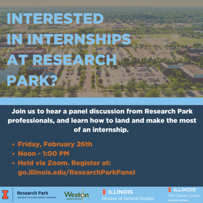 Internships at Research Park
