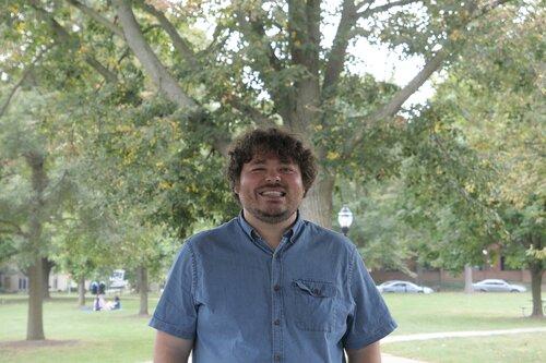 James Steur, PhD Student in Political Science, @JamesSteur