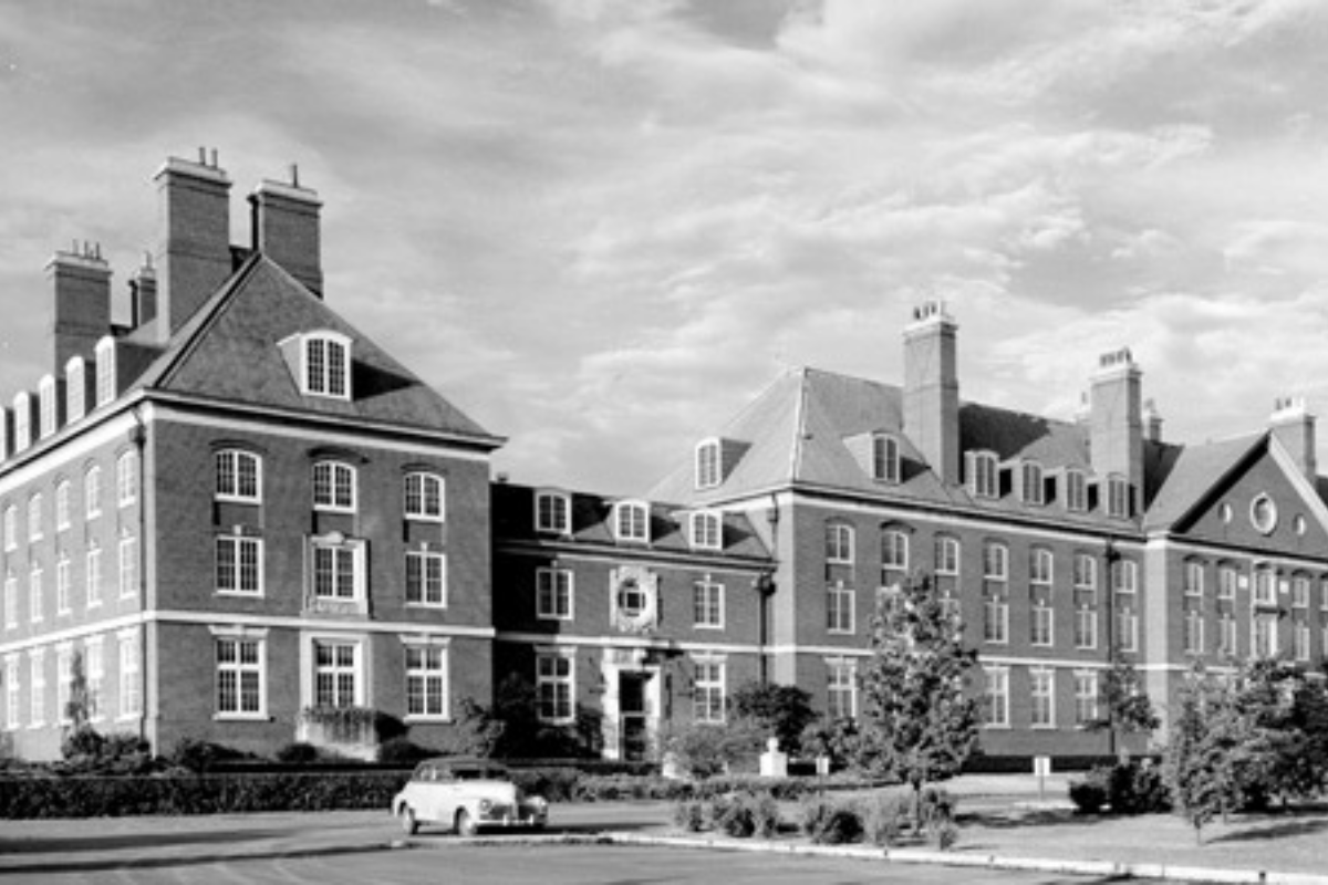 Natural Resources Building in 1954
